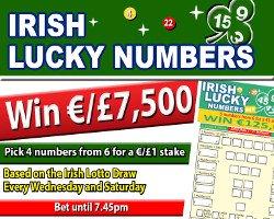 IrishLuckyNumbersScreen