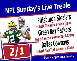 NFLSundaysLiveTreble