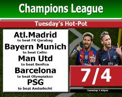 ChampionsLeagueTuesHotpot